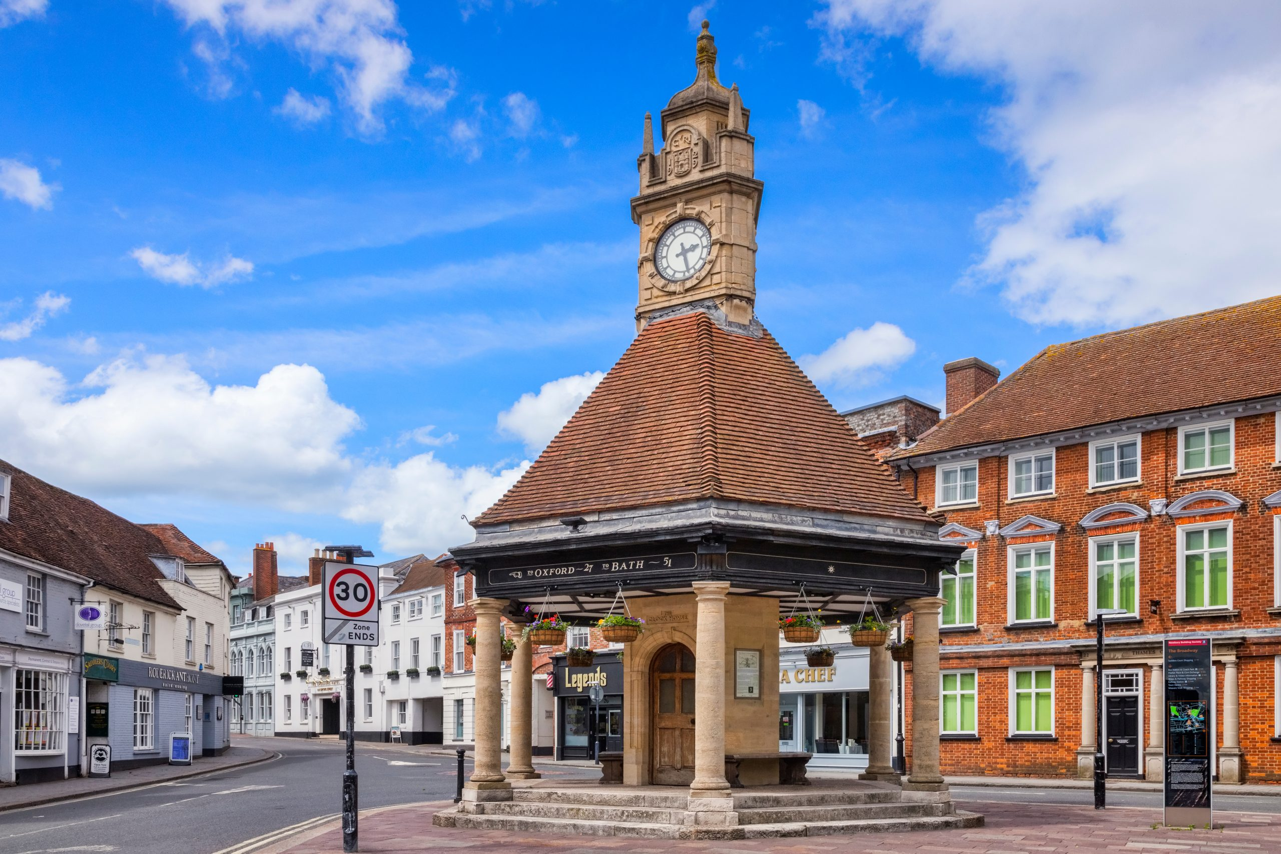Retiring in Berkshire? Why Newbury Should be Top of Your Viewing List